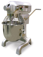 1.5 HP Hobart Style Commercial Planetary 20 Qt Mixer with Guard and Timer