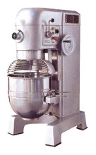 60 Qt Commercial Planetary Mixer  3 HP  with Guard and Timer