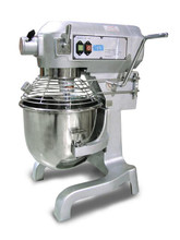 1.5 HP Hobart Style Commercial Planetary 20 Qt Mixer with Guard