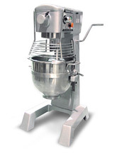 2 HP Hobart Style Commercial Planetary 30 Qt Mixer with Guard