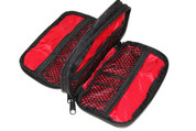 The Grizzly Shiloh is a sturdy bag to hold batteries, disk, USB and all kinds of small gear.  It has two zippered pockets
