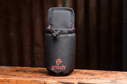 Wild Grizzly SNAKE RIVER Water Bottle Holder (Black)