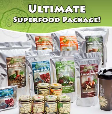 Sarvaa Superfood's Ultimate Superfood Package!
