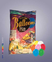 Bag of Assorted Balloons (Standard Colors)