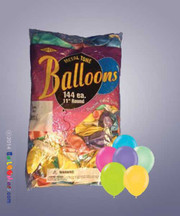 Bag of Assorted Balloons (Tropical Colors)