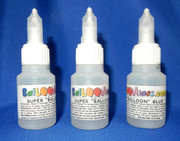 BaLLOONiacs.com has acquired from Germany the same glue introduced at Twist and Shout 2015 by Irina Lobanova. It is a non-solvent, quick drying adhesive that requires only one drop to fuse latex balloons. A Cyanoacrylate adhesive for bonding rubber and PVC surfaces. Apply to one side. After application, pieces must be fit together and pressed. WARNING: Bonds to skin and eyelids in seconds. Avoid contact with eyes, skin or clothing. Wash thoroughly after handling. Do not ingest. Manufactured in Germany for BaLLOONiacs.com.