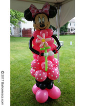 Minnie Mouse Column