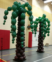 Jungle Trees Column