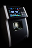 The face of the E-1000 features a HD touchscreen as well as a modern exterior that can easily become the visual centerpiece at any optical lab.