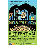 See Judith's work at the Commonwheel Art Festival over Labor Day weekend!