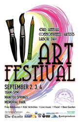 Join Judith at the Commonwheel Art Festival over Labor Day weekend!