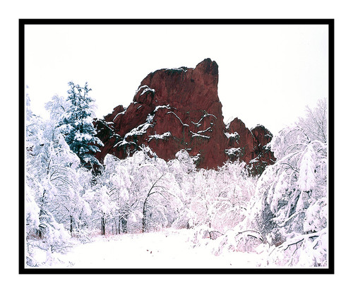 Rock Formation in Red Rock Canyon in Colorado Springs, Colorado 157