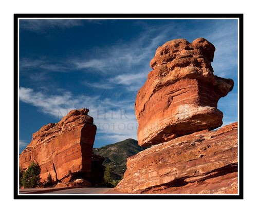 Balanced Rock in Garden of the Gods in Colorado Springs, Colorado 2034