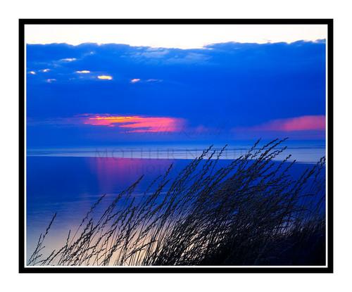 Lake Michigan Sunset in Sleeping Bear Dunes State Park, Michigan 108