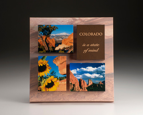 Garden of the Gods Wood Block Triptych