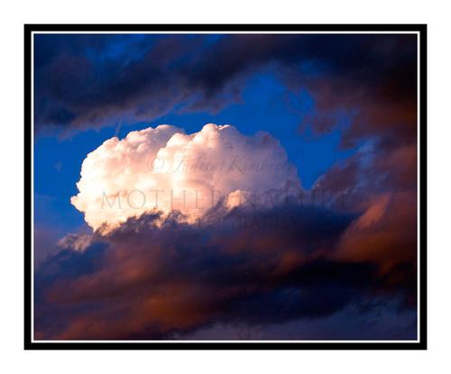 Cloud Formation over Colorado Springs, Colorado 1634