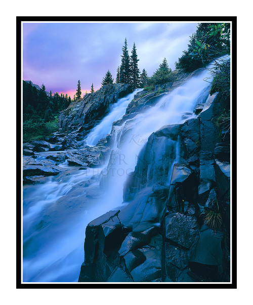 Twin Falls in Yankee Boy Basin, Ouray, Colorado 65