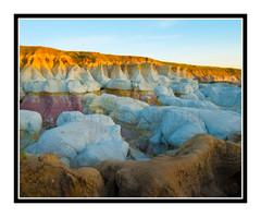 Paint Mines Interpretive Park at Sunrise, Calhan, Colorado 2203