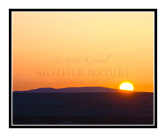 Sunrise Over a Hill in Shiprock, New Mexico 1301