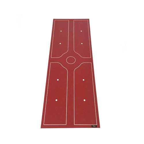 Eco Friendly Alignment Yoga Mat