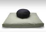 Zafu and Zabuton Meditation Cushion Pillow Set
