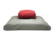 Kapok Rectangular Cushion and Zabuton Meditation Cushion Set