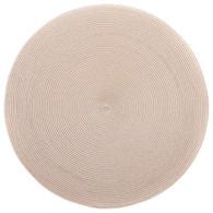 """Deborah Rhodes 15"""" Round Placemat in Sand"""