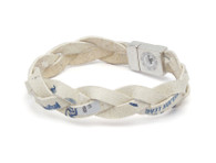 New York Mets Game Baseball Bracelet made from Authentic Game-Used Baseball