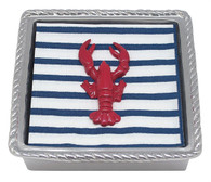 Mariposa Red Lobster Rope Napkin Box