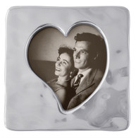 Mariposa Small Square Open Heart Frame 4 x 6