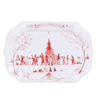 "Country Estate Ruby Gift Tray ""Christmas"""