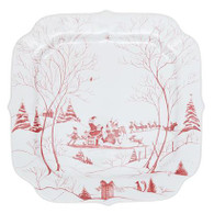 Country Estate Ruby Santa's Cookie Tray