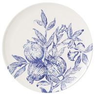 Vietri Melagrana Blu Round Platter