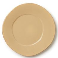 """Vietri Lastra Dinner PlateCappuccino 12"""""""