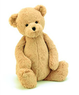 "Jellycat Bashful Bear Honey Medium (12"")"