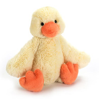"Jellycat Bashful Duckling Small (7"")"