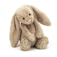 "Jellycat Bashful Bunny Beige Small (7"")"