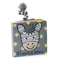 """Jellycat """"If I Were a Zebra"""" Book"""