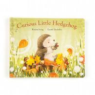 Jellycat Curious Little Hedgehog Book