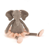"""Jellycat Dancing Darcy Elephant Small (9"""")"""