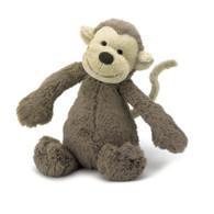 """Jellycat Bashful Monkey Small (7"""")"""