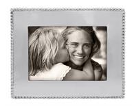 Mariposa Beaded 5 x 7 Engraveable Frame