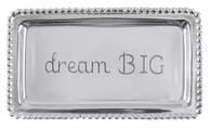"Mariposa ""Dream Big"" Beaded Statement Tray"