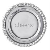 """Mariposa """"Cheers""""  Wine Plate"""