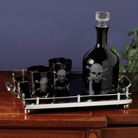 Skellington Skull Decanter