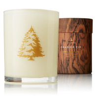 Frasier Fir Seasonal Poured Candle with wood wick (3943)