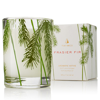 Frasier Fir Votive in glass jar (5256)