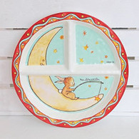 Baby Cie Section plate - Bunny