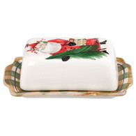 Old St. Nick Butter Dish