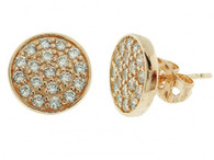 Samantha Rose Gold Stud earring